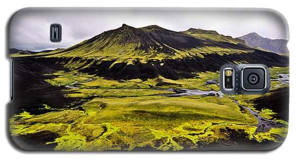 Moss In Iceland Galaxy S5 Case