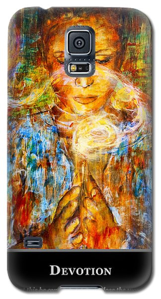 Motivational Devotion Galaxy S5 Case