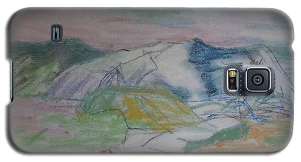 Mount Desert Back Side Galaxy S5 Case by Francine Frank