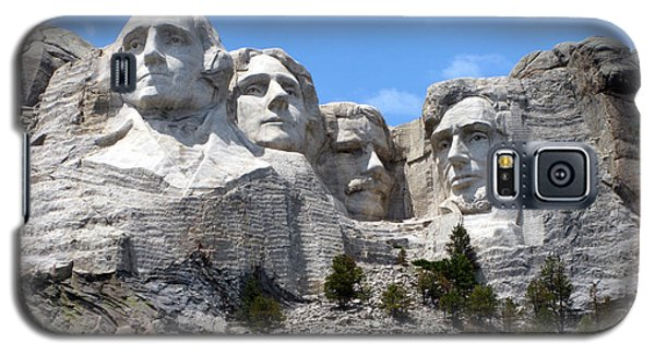 Lincoln Memorial Galaxy S5 Case - Mount Rushmore Usa by Olivier Le Queinec