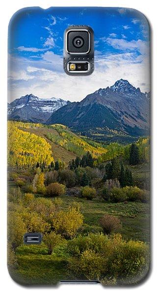 Mount Sneffels Under Autumn Sky Galaxy S5 Case by Greg Nyquist