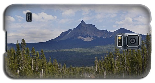 Galaxy S5 Case featuring the photograph Mount Thielsen by Mick Anderson