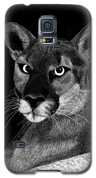 Mountain Lion Galaxy S5 Case by Kume Bryant