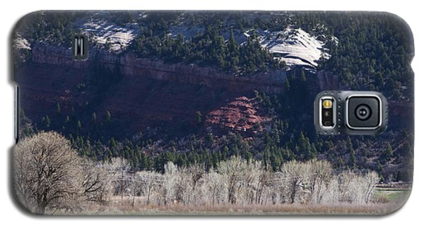 Galaxy S5 Case featuring the photograph Mountain Pasture by Lorraine Devon Wilke