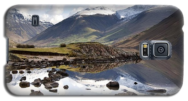 Mountains And Lake At Lake District Galaxy S5 Case