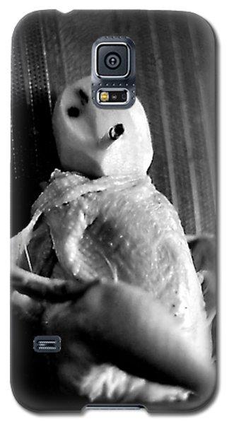 Mr. Chicken Potato Head Takes A Smoke Break In The Back Seat Of My Car Galaxy S5 Case