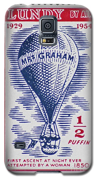Galaxy S5 Case featuring the photograph Mrs Graham The Balloonist by Andy Prendy