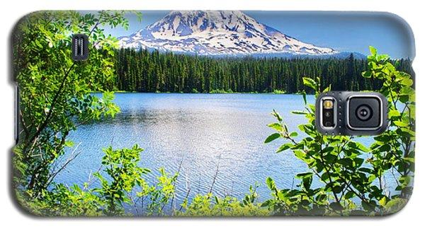 Mt Adams And Takhlakh Lake Galaxy S5 Case