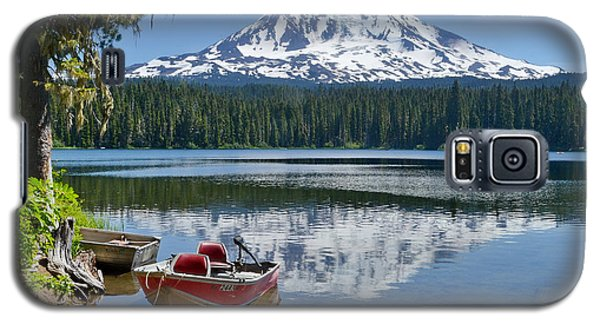 Mt Adams At The Lake Galaxy S5 Case