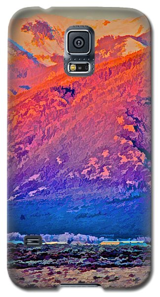 Mt Wheeler At Sunset Galaxy S5 Case