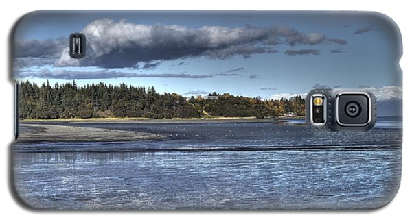 Galaxy S5 Case featuring the photograph Mud Bay  by Michele Cornelius
