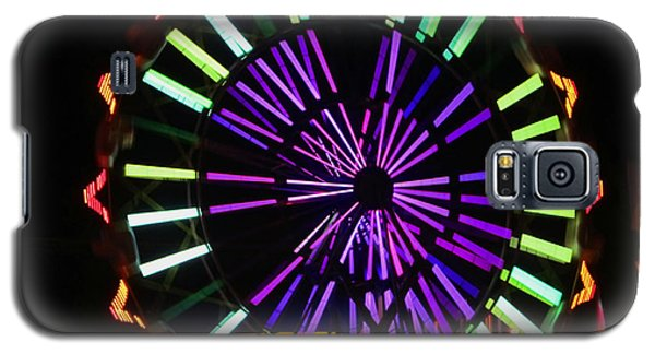 Galaxy S5 Case featuring the photograph Multi Colored Ferris Wheel by Kym Backland