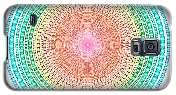 Multicolor Circle Galaxy S5 Case