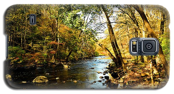 Galaxy S5 Case featuring the photograph Musconetcong River by Brian Hughes