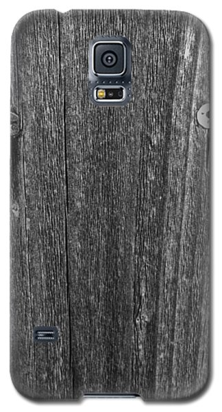 Galaxy S5 Case featuring the photograph My Fence by Bill Owen