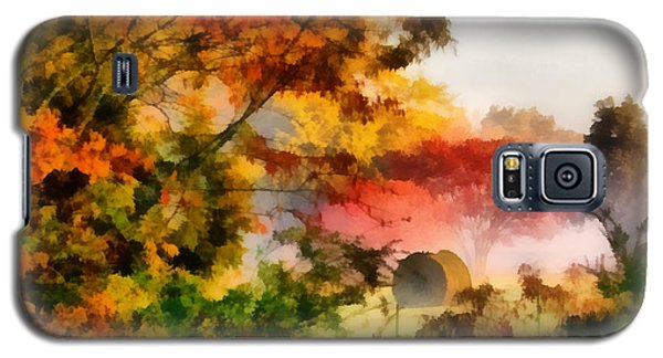Galaxy S5 Case featuring the painting My Front Yard by Lynne Jenkins