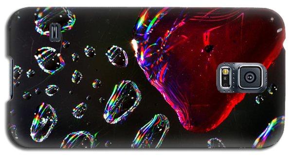 My Heart Galaxy S5 Case by Sylvie Leandre