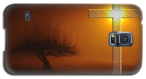 Galaxy S5 Case featuring the photograph My Life In God's Hands 3 To 4 Ration by Clayton Bruster
