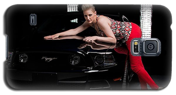 Galaxy S5 Case featuring the photograph My Mustang by Jim Boardman