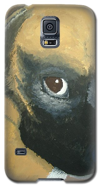 Galaxy S5 Case featuring the painting My Name Is Attitude by Norm Starks