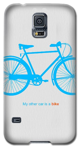 Bicycle Galaxy S5 Case - My Other Car Is A Bike  by Naxart Studio