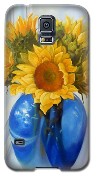 My Sunflowers Galaxy S5 Case