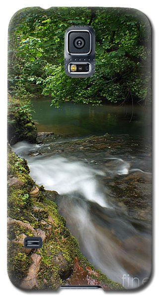 Galaxy S5 Case featuring the photograph Mystic Creek by Tyra  OBryant