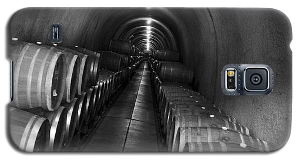 Napa Wine Barrels In Cellar Galaxy S5 Case