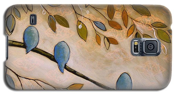 Nature Birds Painting...peaceful Garden Galaxy S5 Case