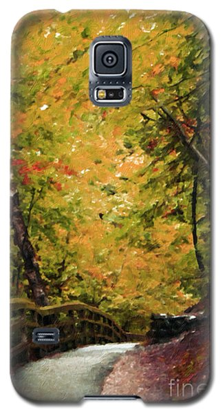 Galaxy S5 Case featuring the photograph Nature In Oil  by Deniece Platt