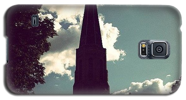 Religious Galaxy S5 Case - #nature #trees #leaves #church #steeple by Jenna Luehrsen