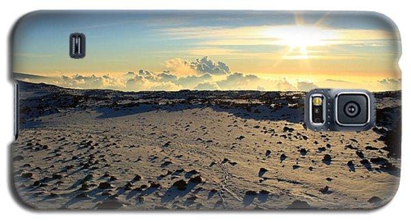 Galaxy S5 Case featuring the photograph Nearing Mauna Kea Summit by Scott Rackers