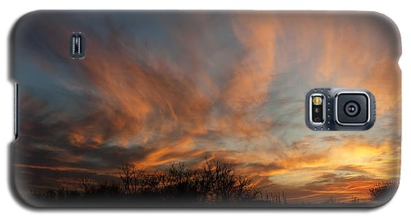 Nebraska Sunset Galaxy S5 Case