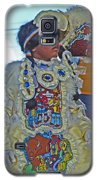New Generation Of Mardi Gras Indians In New Orleans Galaxy S5 Case