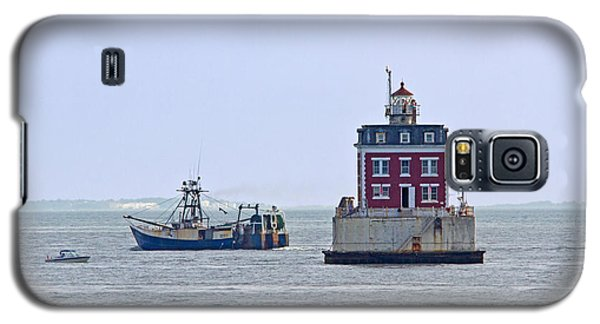 New London Ledge Lighthouse. Galaxy S5 Case