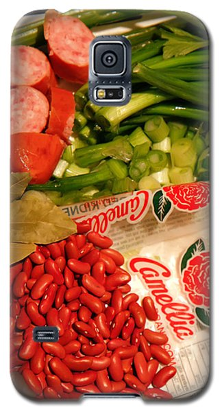 New Orleans' Red Beans And Rice Galaxy S5 Case by KG Thienemann