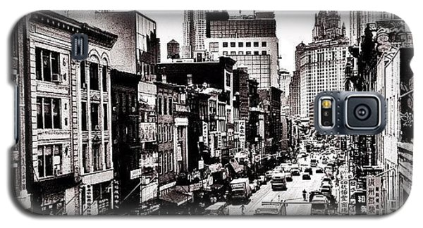 New York City - Above Chinatown Galaxy S5 Case by Vivienne Gucwa