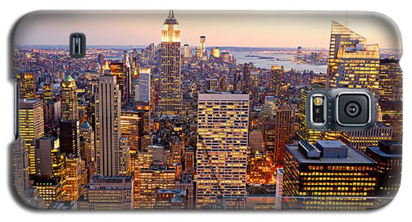 Galaxy S5 Case featuring the photograph New York City by Luciano Mortula