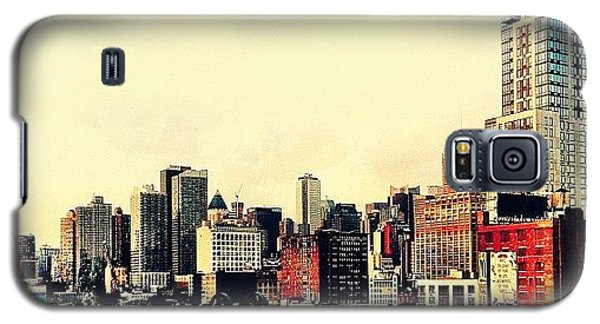 New York City Rooftops Galaxy S5 Case by Vivienne Gucwa