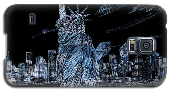 New York New York Galaxy S5 Case by Saad Hasnain