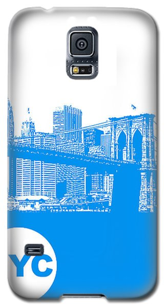 New York Poster Galaxy S5 Case by Naxart Studio