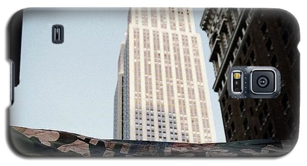 Skylines Galaxy S5 Case - #newyorker #newyork #ny #empirestate by Joel Lopez