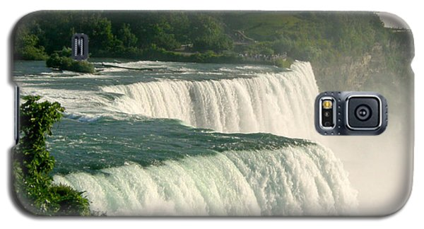 Galaxy S5 Case featuring the photograph Niagara Falls State Park by Mark J Seefeldt
