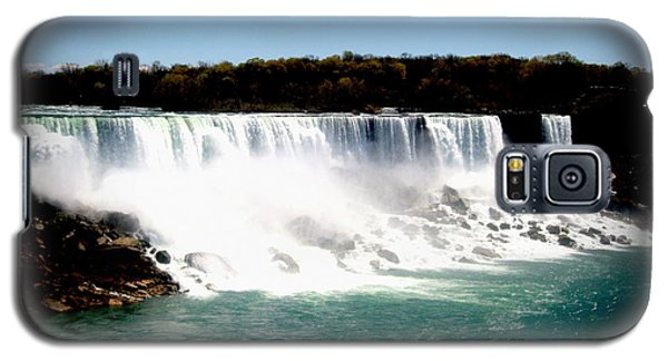 Galaxy S5 Case featuring the photograph Niagara Falls The Canadian Side by Danielle  Parent