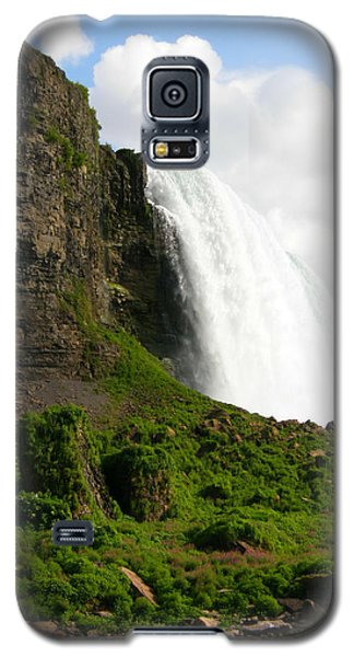 Galaxy S5 Case featuring the photograph Niagara Falls Us Side by Mark J Seefeldt