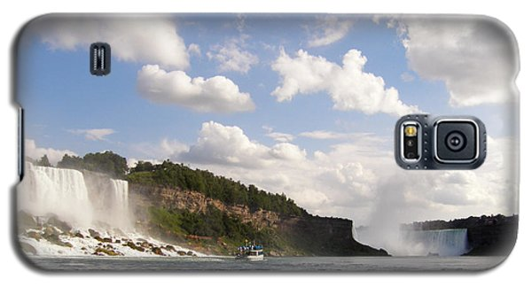 Galaxy S5 Case featuring the photograph Niagara Falls View From The Maid Of The Mist by Mark J Seefeldt