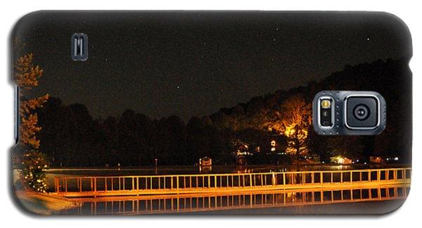 Galaxy S5 Case featuring the photograph Night Bridge by Kay Lovingood