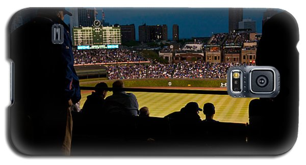 Night Game At Wrigley Field Galaxy S5 Case