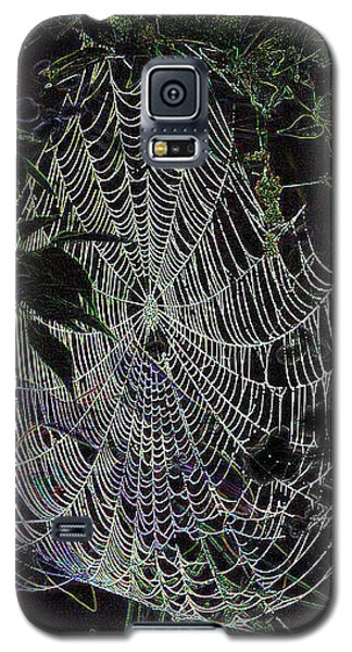Galaxy S5 Case featuring the photograph Night Lines by EricaMaxine  Price