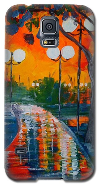 Night Reflections Galaxy S5 Case